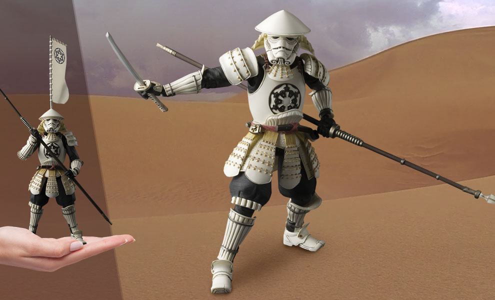 Yari Ashigaru Stormtrooper Star Wars Collectible Figure