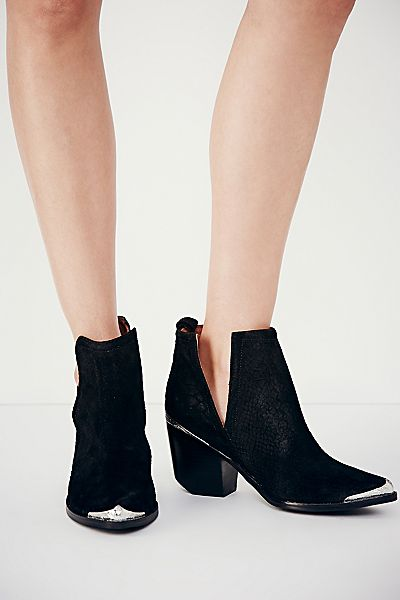 Jeffrey Campbell Hunt The Plains Ankle Boot Suede