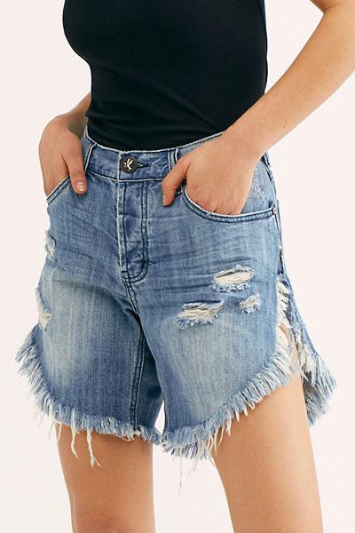 "OneTeaspoon Denim Cutoff Jeans Shorts ""Frankies"""