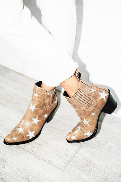 Mexicana Circus Stars Western Ankle Boots