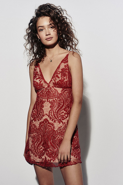 Free People Night Shimmers Mini Bodycon Dress