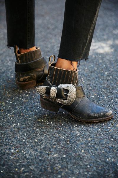 Understated Leather X Matisse Black Biker Boot