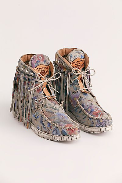 "El Vaquero Moccasin Boots ""Roseland"""