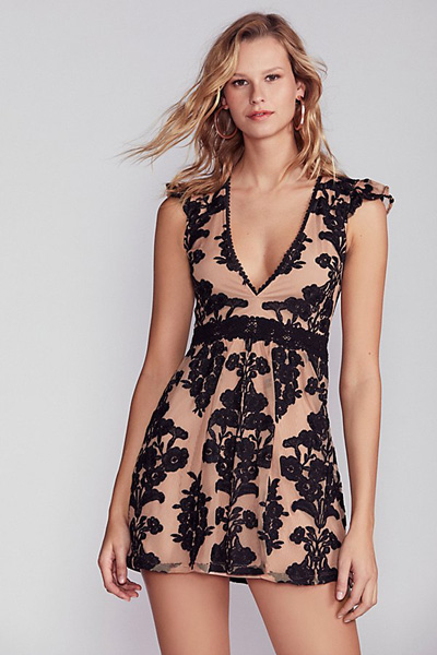 For Love & Lemons Fit And Flare Dress