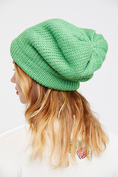 Free People All Day Slouchy Knit Beanie