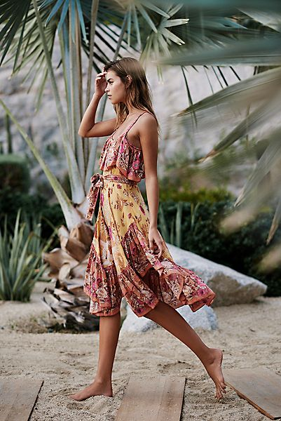 "Spell Bohemian Strappy Dress ""Siren Song"""