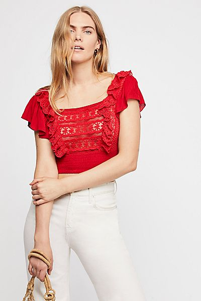"Free People Boho Crop Top ""Bridget"""