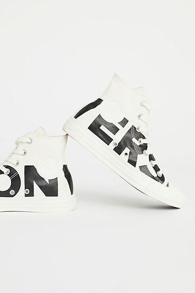 Converse All Star Bold Graphic High Top Sneakers