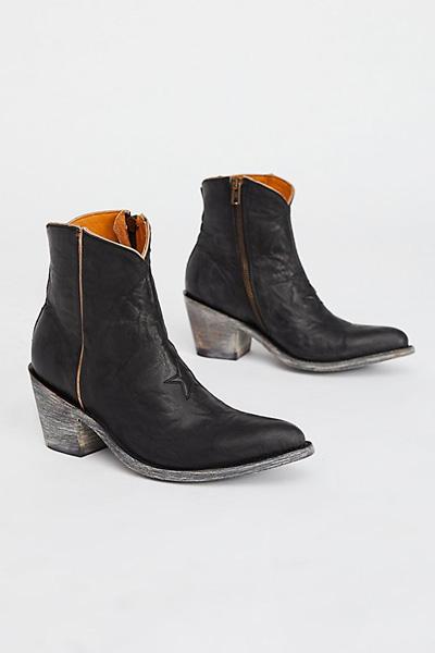 Old Gringo Steller Star Black Western Boot