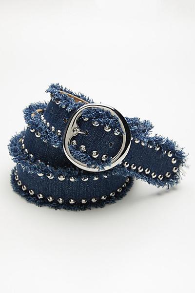 B-low the Belt Nina Embellished Denim Belt