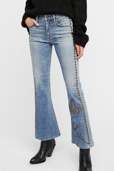 Citizens of Humanity Studded Flare Jeans