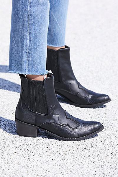 Matisse Vegan Cavalier Black Western Boot