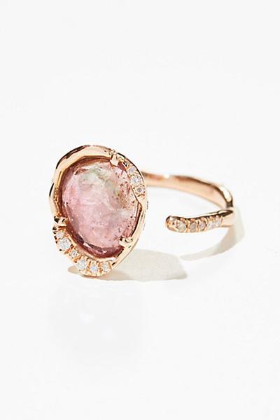 Sirciam 14k Sepharine Tourmaline Diamond Ring