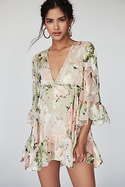 "alice McCall Floral Mini Dress ""Little Juliet"""