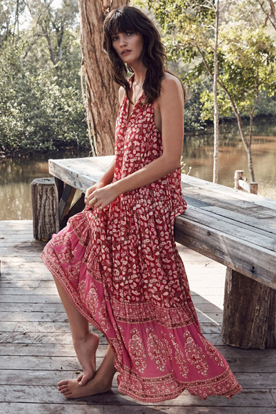 "Spell Boho Maxi Dress ""Delirium"""