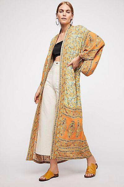 "Spell Bohemian Maxi Kimono ""Delirum"""