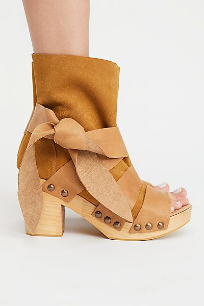 """Free People Wrap Clog Sandals """"Trilogy"""" FP Collection"""