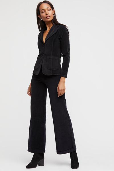 Sugarhigh Lovestoned Black Corduroy Suit