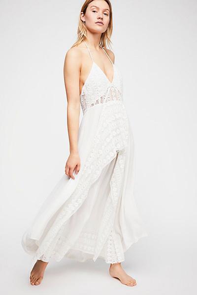 Free People Endless Summer Halter Maxi Dress