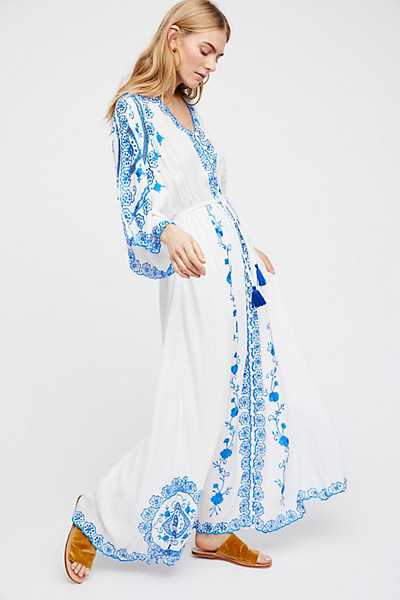 Fillyboo Bohemian Duster Maxi Dress