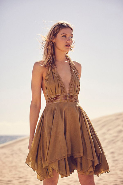 Free People Endless Summer Show Off Mini Dress