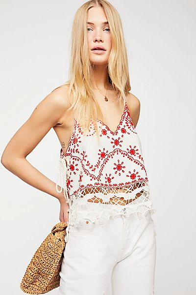 Free People Lost In Your Love Tank Top