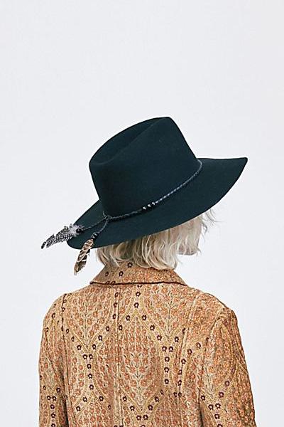 """Free People Boho Felt Hat """"Wild Heart"""""""