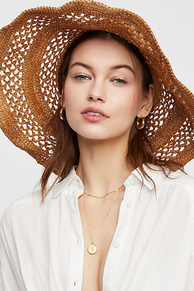 'ale by Alessandra Camille Raffia Straw Hat
