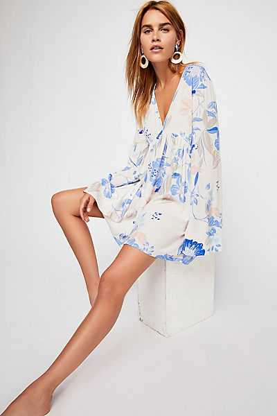 "Free People Boho Mini Dress ""Bella"" Tunic"