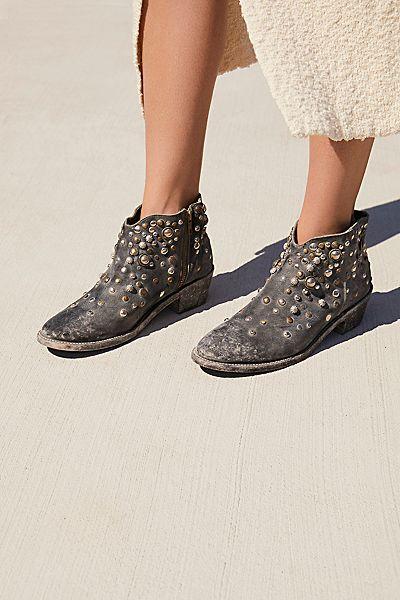 "Faryl Robin + Free People Western Ankle Boot ""Vista Stud"""