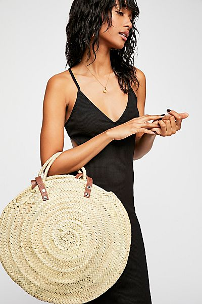"Sought & Found Straw Tote Bag ""Marrakesh"""
