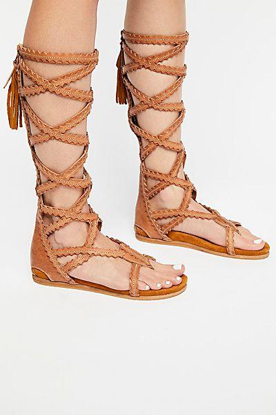El Vaquero Landers Tall Gladiator Sandal