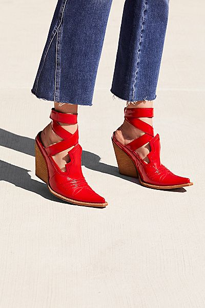 """Jeffrey Campbell Western Shoe Boot """"Sunny Days"""""""