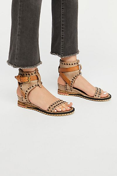 "A.S.98 Mini Wedge Sandal ""Tessa"""