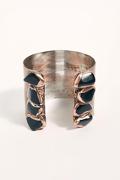 """Ouroboros Cuff Bracelet """"Bottle Rock"""""""