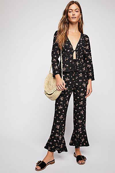 "Free People Boho Pant Set ""El Paso"""