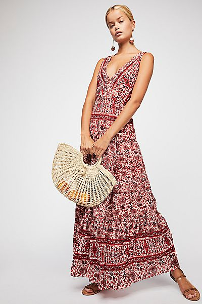 "Free People Bohemian Maxi Dress ""Birdie"""