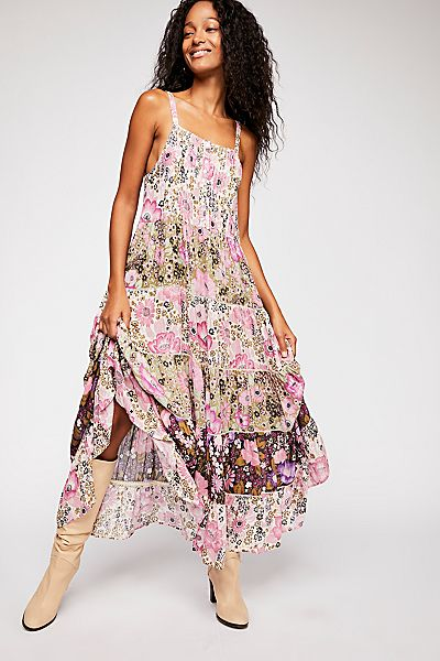 "Spell & The Gypsy Dress ""Desert Daisy"" Bohemian Maxi Sundress"