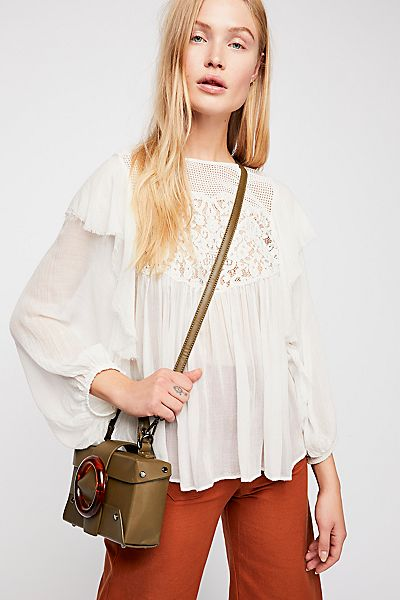 "Free People Boho Blouse ""Camilla"" FP One Top"