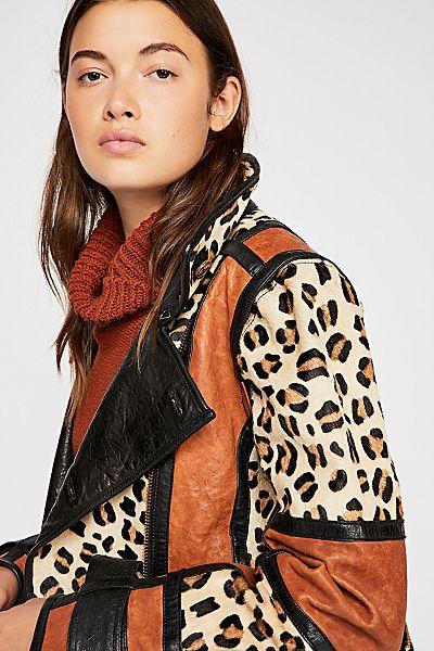"Nicholas K Leather Moto Jacket ""Mendoza"""