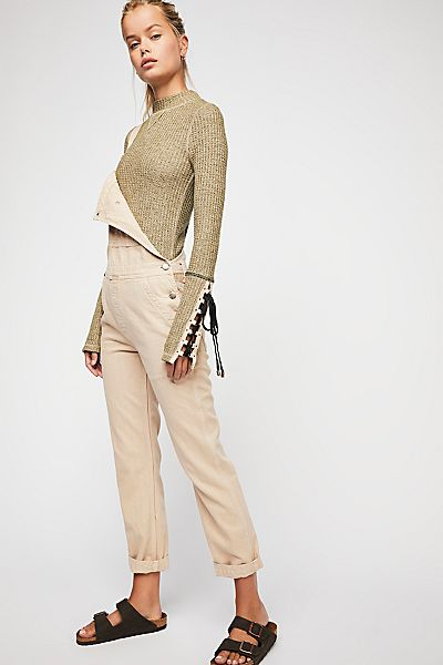 "Free People Mock Neck Top ""Mountaineer Cuff"""