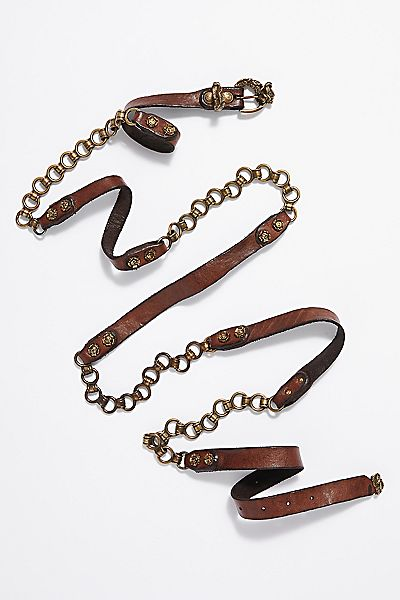 "Campomaggi Belt ""Censa"" Embellished Chain Wrap"