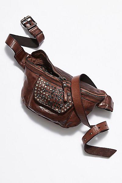 """Campomaggi Studded Belt Bag """"Nola"""""""