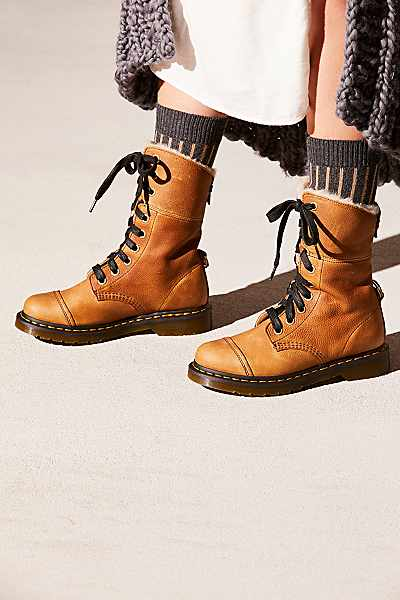 "Dr. Martens Boots ""Aimlita"" Moto Style"