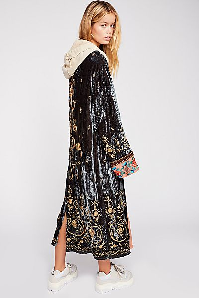 "Free People Maxi Jacket ""Interstellar"" Bali Bohemian"
