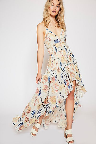 """Free People Floral Boho Maxi Dress """"Patry"""""""