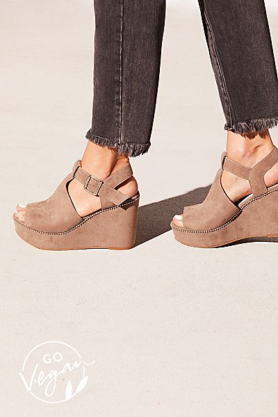 """BC Footwear Wedges """"Vegan Darcy"""""""