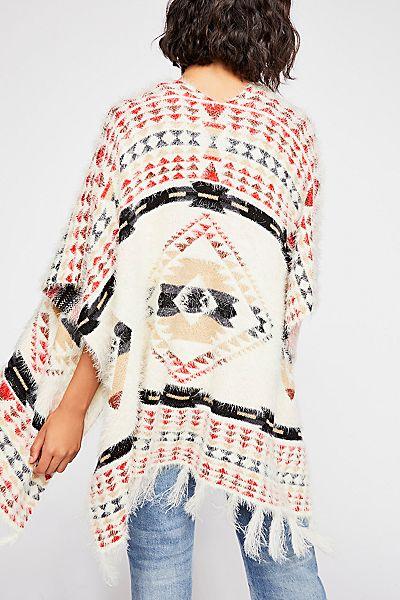 "Free People Kimono ""Canyonland"" Tribal"