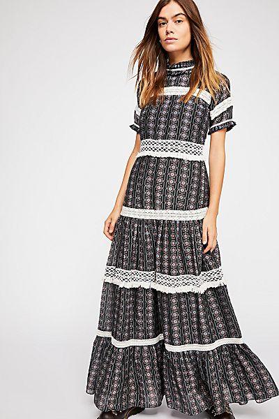 "Carolina K Bohemian Maxi Dress ""Catalina"""