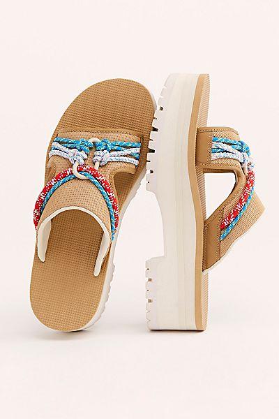 "Teva Platform Sandals ""Indio Carabiner"""